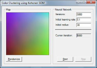 SOM Coloring sample application
