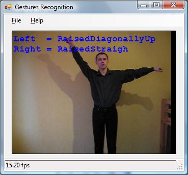 Hands Gestures Recognition